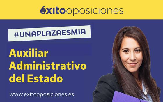 Curso online de Preparación de Oposiciones para Auxiliar Administrativo del Estado
