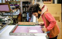 Curso online de Serigrafía y Estampado Textil